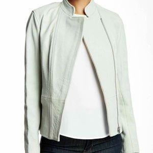 Ted Baker Ballari Asymmetric Zip Leather Jacket 4